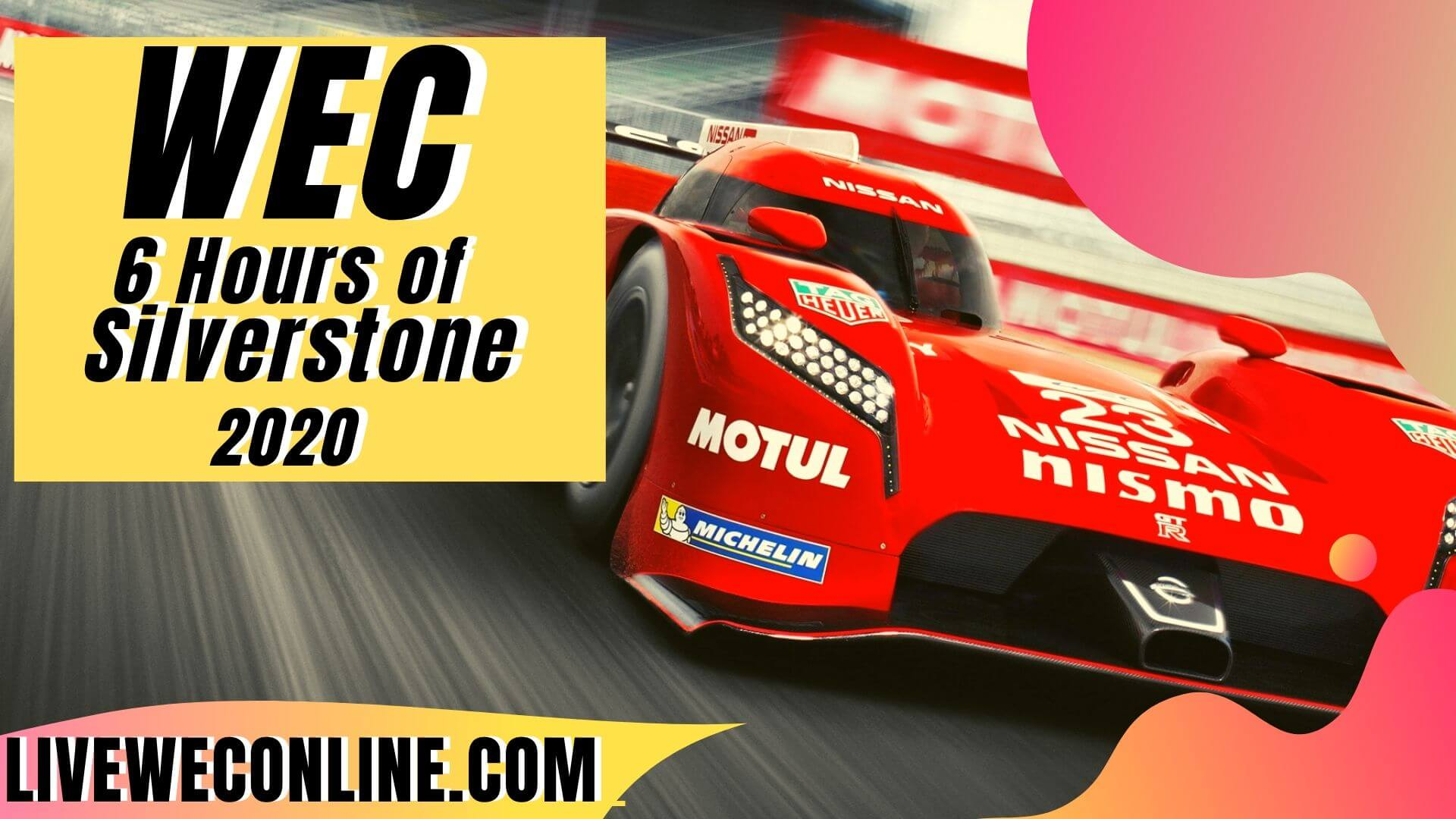 6 Hours of Silverstone Live Stream 2020 | WEC