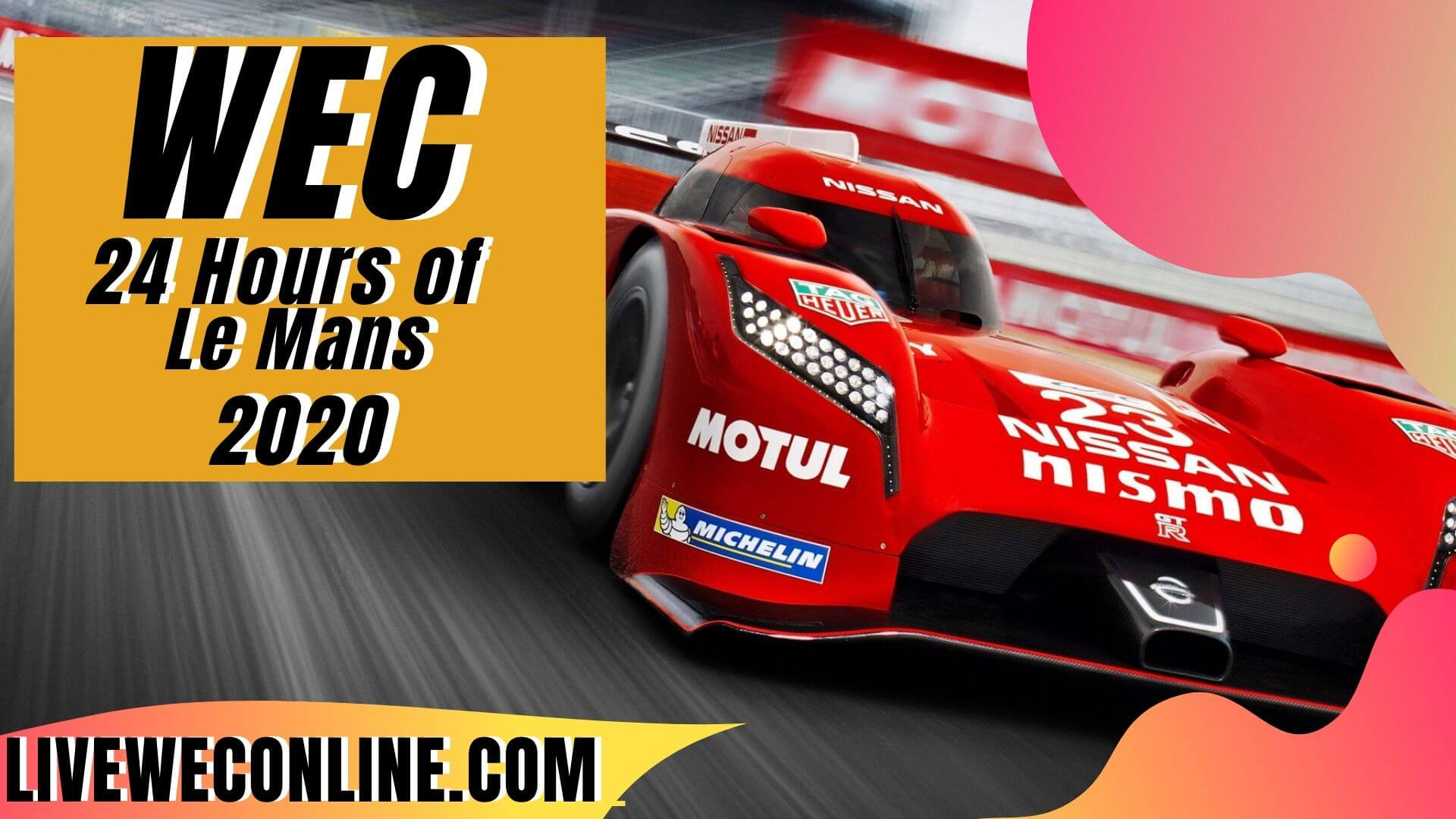 24 Hours of Le Mans Live Stream 2020 | WEC