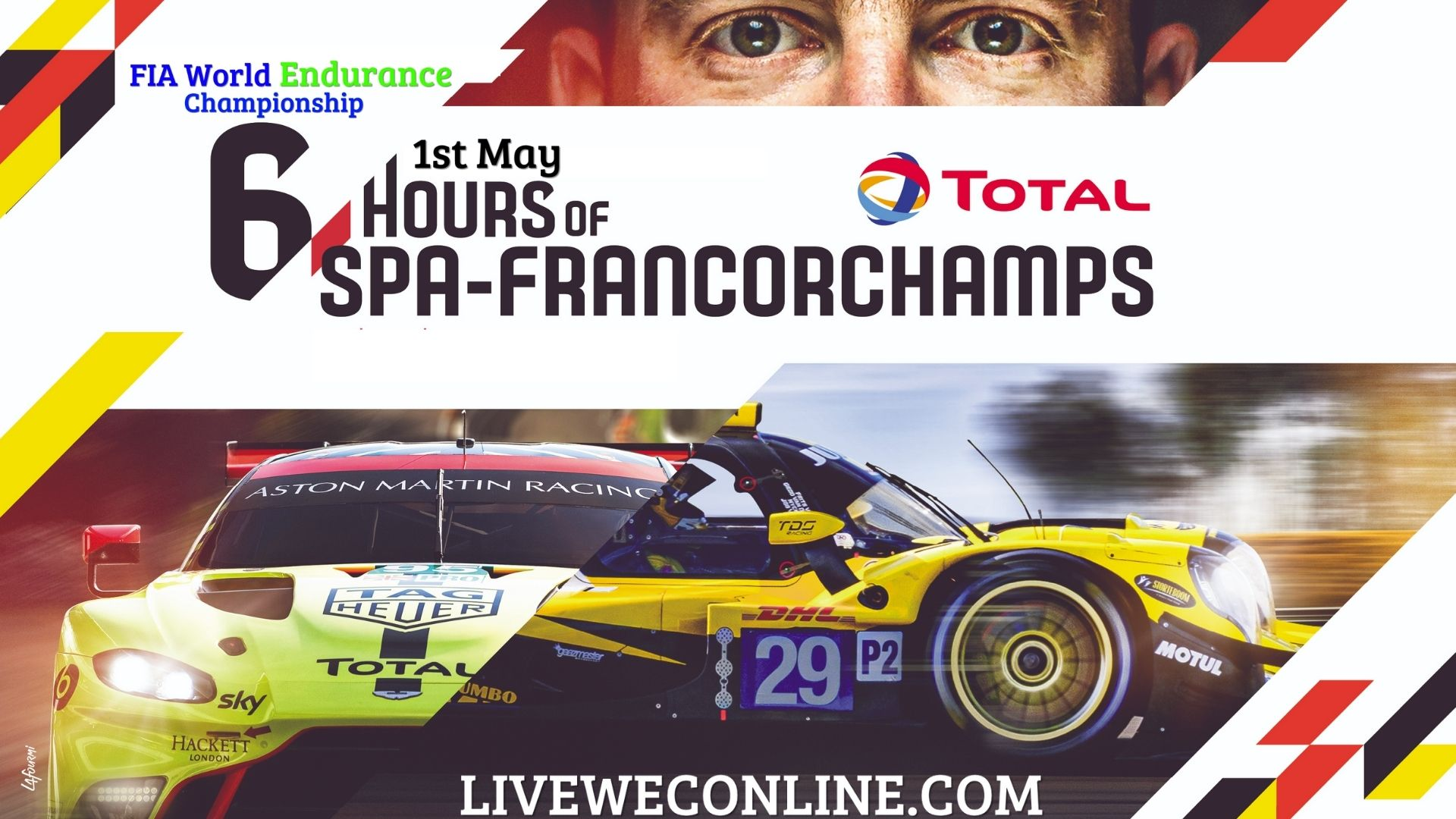 Total 6 Hours Of Spa Francorchamps Live Stream 2021 | WEC