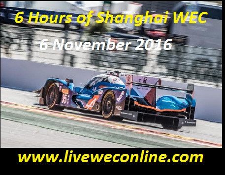 6 Hours of Shanghai live