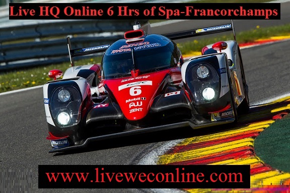 Live WEC 6 Hours of Spa Francorchamps Online