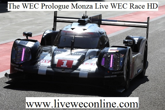 The WEC Prologue Monza Live