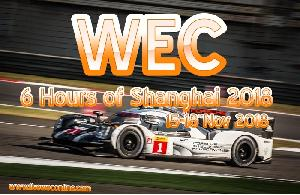 WEC 6 Hours of Shanghai 2018 Live